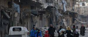 Ad Aleppo è questione di ore per la resa finale. Il Papa scrive ad Assad