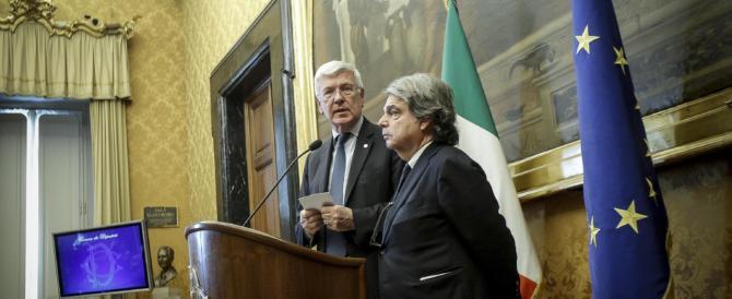 """Romani e Brunetta: """"Opposizione al governo Gentiloni senza sconti"""" (VIDEO)"""
