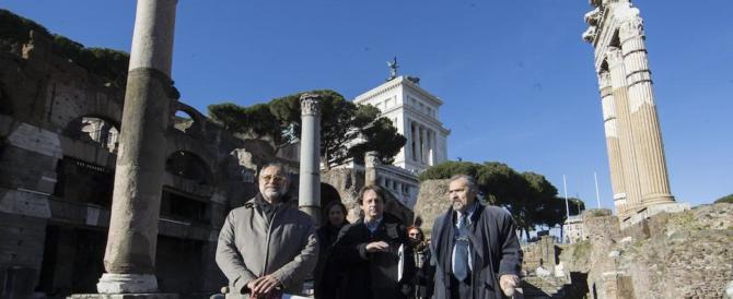 Il Capodanno spento dei romani: senza concerto ma con visita ai Fori