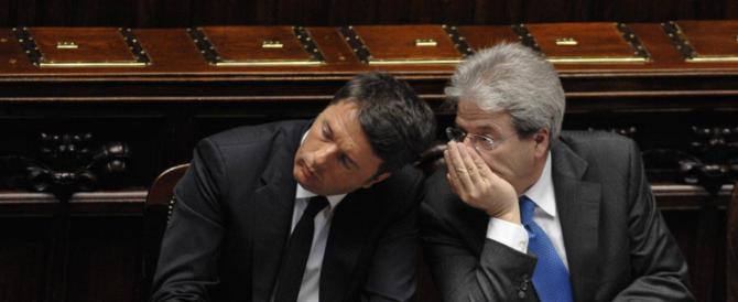 Centrodestra all'attacco: «Gentiloni? È un Renzi bis che offende gli italiani»