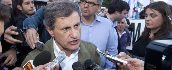 Alemanno: «La crisi di Mps è la punta dell'iceberg, Padoan sempre smentito»