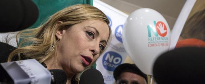 Giorgia Meloni: «La gente ha cominciato ad aprire gli occhi» (VIDEO)