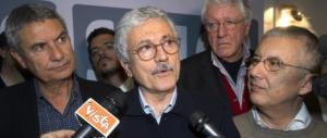 D'Alema: «Per Renzi eravamo degni solo di disonorevole sepoltura»