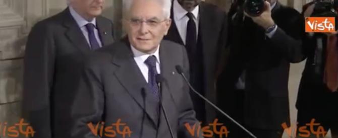Mattarella chiude le consultazioni col dubbio: Renzi-bis o Gentiloni? (video)