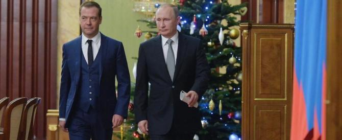 Medvedev, dalla Russia con furore: «L'addio di Obama è un'agonia. RIP»