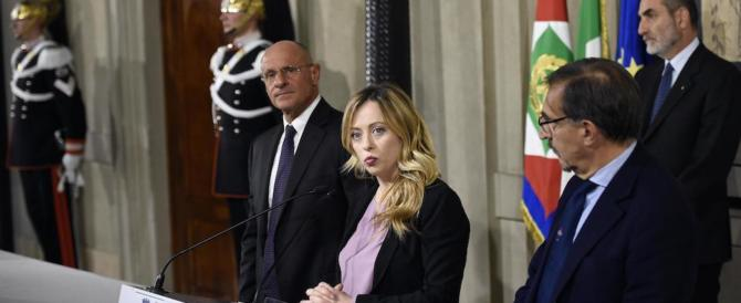 FdI a Mattarella: «Subito la nuova legge elettorale, il voto a marzo»