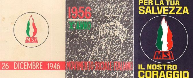 70 anni fa iniziava la gloriosa avventura del Movimento Sociale Italiano