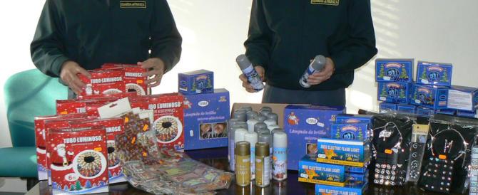 Luci natalizie pericolose, giocattoli a rischio: già sequestrati 150mila prodotti