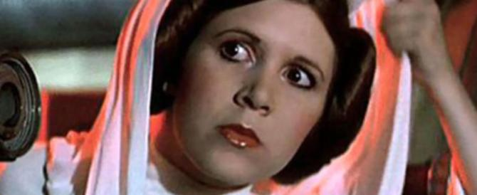 "Cinema in lutto, è morta Carrie Fisher, la principessa Leila di ""Guerre stellari"" (VIDEO)"