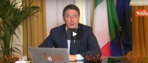 La recita di Renzi: beve il cappuccino, parla del Sì e di Johnny Dorelli (video)