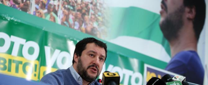 """Salvini: """"Accordo col partito di Putin. Resto segretario della Lega fino al voto"""""""