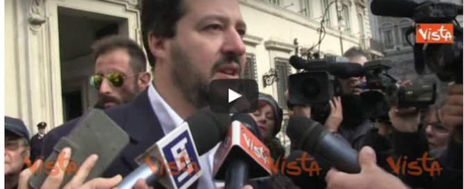 Referendum, Salvini: «I voti all'estero? Inventati o comprati da Renzi» (video)