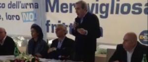 """Con """"Meravigliosa frittura"""" chiude la campagna del No in Campania (video)"""