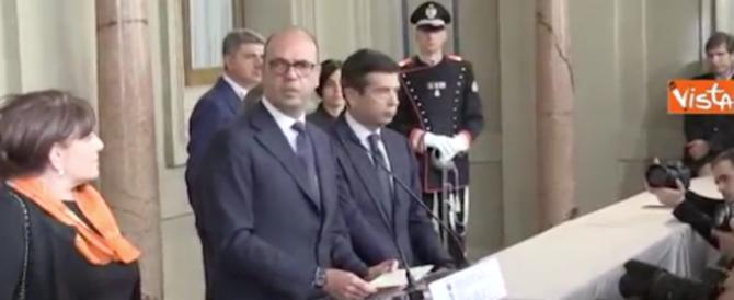 Consultazioni, Alfano: «Il governo non è uno yogurt». Sel: no al Renzi bis (video)