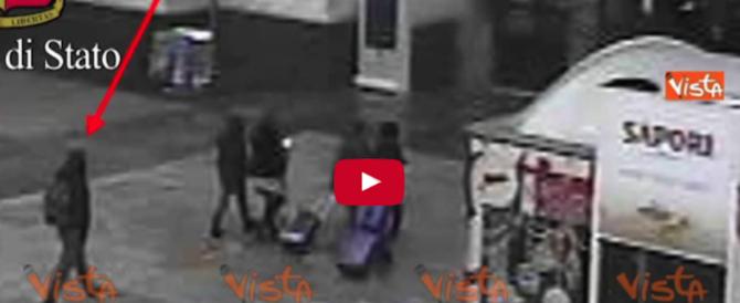 La fuga di Amri da Berlino a Milano, passando per Lione e Torino: le immagini (video)
