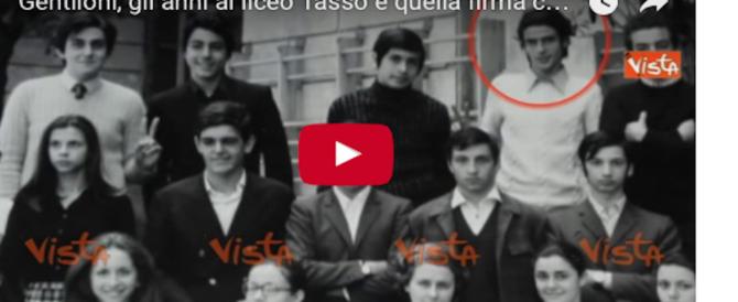 Così Gentiloni studente del Tasso si firmava con la falce e il martello (Video)