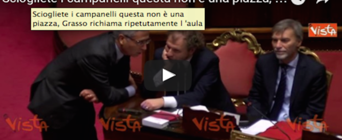 Governo, dibattito al Senato, ministri distratti: Grasso richiama all'ordine (video)