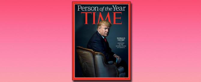 Trump incoronato uomo dell'anno. Alla faccia di De Niro e Madonna