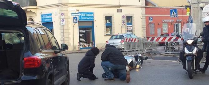 Disavventura per Agnese Renzi: investe uno scooterista a Firenze