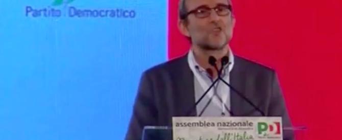 Volano insulti all'assemblea Pd. Giachetti : «Avete la faccia come il culo» (video)