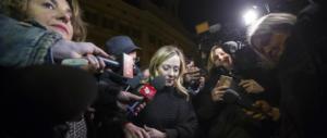 Meloni: «Ora niente scherzi, basta con i governi non scelti dagli italiani»