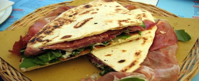 """Dallo """"street food"""" al web, è la piadina romagnola la più amata dagli italiani"""
