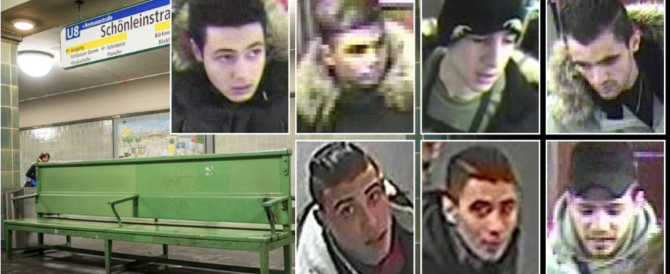 """In 7 danno fuoco a un uomo a Berlino: """"Identificati, sono profughi"""" (VIDEO)"""