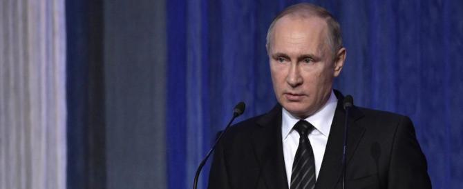 """Putin non molla Assad: """"Non cediamo alla propaganda in Siria"""""""