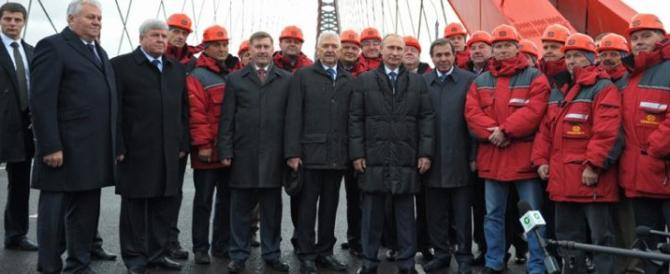 San Pietroburgo, Putin inaugura una autostrada costruita dagli italiani