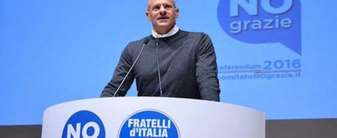 """Rampelli sulle emergenze a Roma (dai roghi all'acqua): """"La Raggi è inerte e confusa"""""""
