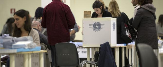 Referendum: alle 19 ha votato il 57% degli italiani. Boom di affluenza al Nord