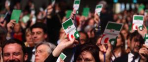 Renzi: o governo di responsabilità nazionale o elezioni anticipate