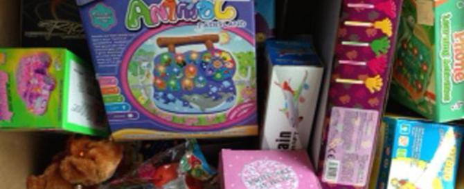 Natale sicuro: sequestrati 4 milioni di giocattoli e addobbi made in China