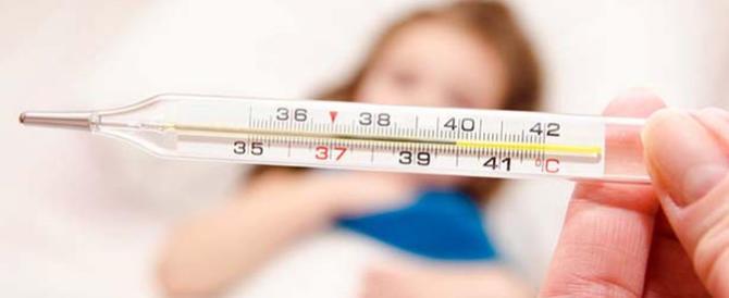 Influenza: forte aumento a Natale, soprattutto tra i bambini