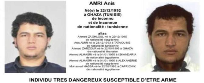 È sparito: eppure il tunisino Amri era anche un sorvegliato speciale degli Usa