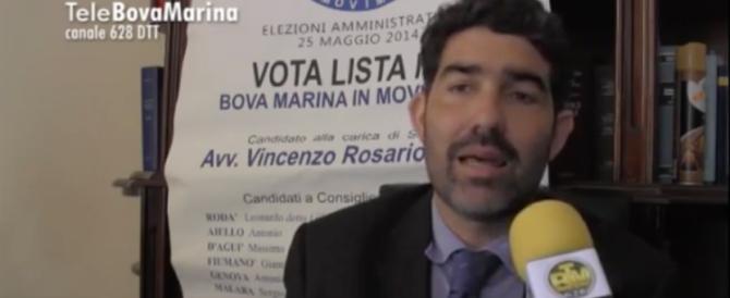 """Il sindaco arrestato per 'ndrangheta diceva: """"Combatteremo le mafie"""" (VIDEO)"""