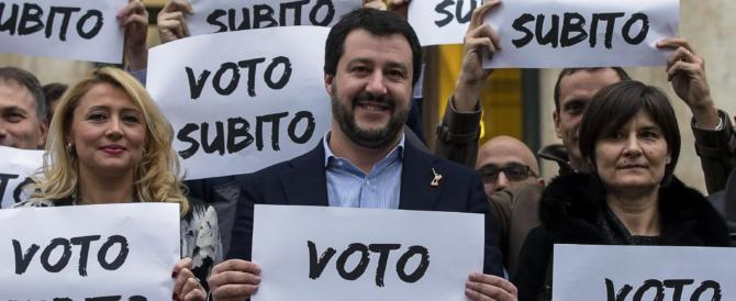 Salvini: «Berlusconi con Renzi e Alfano? Noi con la Meloni e Fitto»