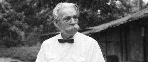 Quando Albert Schweitzer, le grand docteur, previde il disastro dell'Africa