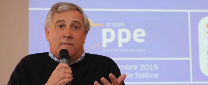 Martedì si vota per la presidenza del Parlamento europeo: Tajani in pista