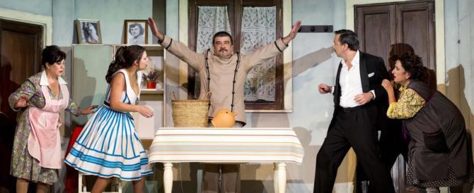Al teatro Brancaccio con Pannofino e Bergamo vince la voglia di anni '80