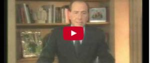 """Accadde oggi: 23 anni fa la """"discesa in campo"""" di Silvio Berlusconi (video)"""