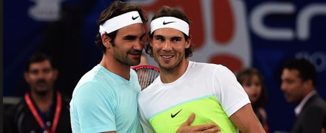 Tennis, in finale torna la supersfida tra gli ex Re: Federer contro Nadal
