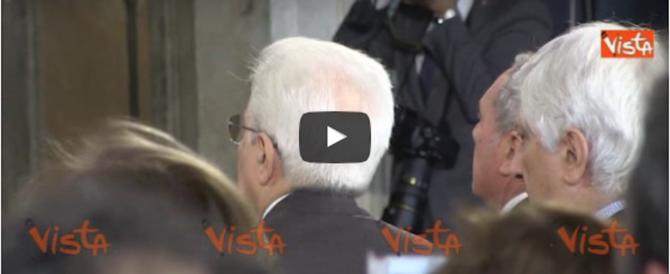 """La """"Giornata della Memoria"""" al Colle: l'intervento di Mattarella (video)"""