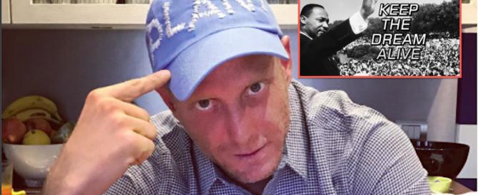 """Lapo Elkann è tornato, senza trans ma con Martin Luther King: """"Viva la libertà"""""""