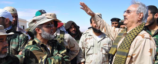 Dalla Libia di Haftar l'Italia ha sbagliato tutto e ha preso solo sberle