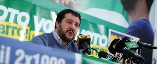 Salvini: «L'alleanza con M5S non si può fare, cambiano idea ogni quarto d'ora»