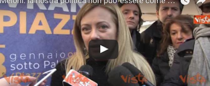 Meloni: «Trump ha detto quello che vorremmo sentire noi: prima l'Italia» (video)