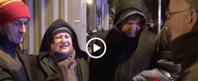 """Ottomila senzatetto a Roma. Un video """"fotografa"""" le loro notti zottozero"""