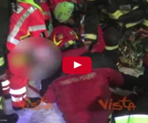 Rigopiano, si spera e si scava: ecco le immagini degli ultimi 3 salvati (video)