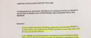 In fuga l'agente inglese che ha ispirato il dossier su Trump e la Russia